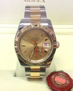 Rolex replica Datejust Turnograph 116263 36mm Champagne